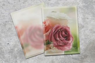 Beautiful Roses Thank You Card
